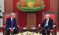 Vietnamesische Führung schickt Glückwunschtelegramm zum Nationalfeiertag der USA