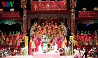 Ausübung der Religion zur Ehrung der drei Göttinnen der Vietnamesen – ein immaterielles Kulturerbe