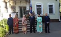Feier zum 53. Gründungstag der ASEAN in der Ukraine