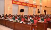 Zeremonie zur Ermutigung der Delegation der vietnamesischen Volksarmee bei den internationalen Armeespielen
