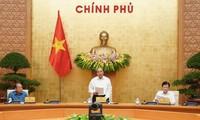 Premierminister leitet Regierungssitzung für Gesetzesaufbau