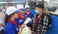 Jugendliche von Ho Chi Minh Stadt verbreiten den Geist der Freiwilligen