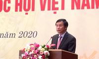 """Start des Pressewettbewerbs """"75 Jahre vietnamesisches Parlament"""""""
