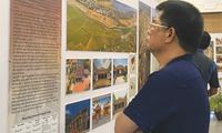 Ausstellung der Architektur traditioneller vietnamesischer Dörfer