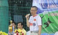 Fußballturnier für vietnamesische Unternehmen in Kambodscha