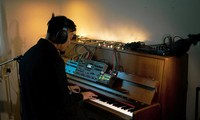 """Duo mit Klavier und Monochord im """"Pas de Deux"""" - Live Filmkonzert"""