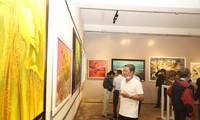 """Eröffnung der Kunstausstellung """"Khanh Hoa begrüßt das neue Jahr 2021"""""""
