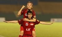 Fußballverein der Frauen von Ho Chi Minh Stadt 1 gewinnt den frühen Meistertitel