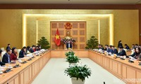 Konkretisierung des Vorhabens über Weltintegration zur Entwicklung des Landes