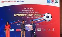 Finalrunde des landesweiten Kleinfeld-Fußballturniers Huyndai Cup 2020