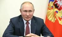Russlands Präsident Wladimir Putin schickt Glückwünsche zum neuen Jahr und zum traditionellen Neujahrsfest Tet