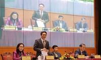 Konferenz zur Umsetzung der Aufgaben des Ministeriums für Kultur, Sport und Tourismus für 2021