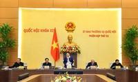 Eröffnung der 52. Sitzung des Ständigen Parlamentsausschusses