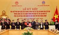 Kooperation zum Aufbau der E-Regierung und des E-Gerichts