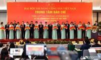Eröffnung des Pressezentrums für den 13. Parteitag der KPV