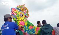 Bewohner auf Ly Son bereiten sich auf Bootsrennen zum Neujahrsfest Tet vor