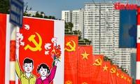 Die in den USA lebenden Vietnamesen verfolgen Parteitag