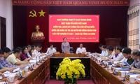 Dachverband der vaterländischen Front Vietnams überprüft Wahlarbeit in Lai Chau