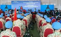 Das Lazarett Nummer 3 wird für UN-Friedensmission im Südsudan im Einsatz
