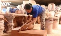 Erhaltung des Handwerksberufs zur Herstellung von Keramik