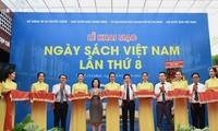 Eröffnung des 8. Vietnamesischen Tages des Buches in Ho-Chi-Minh-Stadt