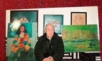 Präsentation von 100 Werken des verstorbenen Malers Linh Chi