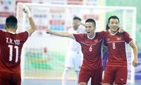 Freundschaftsspiel zwischen der vietnamesischen Futsal-Nationalmannschaft und der Auswahl des Irak wird in den VAE statt