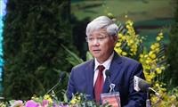 Der Vorsitzende der Vaterländischen Front Vietnams beglückwünscht buddhistische Gläubige zum Vesak-Fest 2021