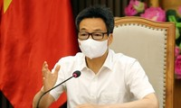 Vizepremierminister Vu Duc Dam tagt mit Provinzen Bac Ninh und Bac Giang über Covid-19-Epidemie