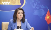 Reaktion Vietnams auf Übung Taiwans (China) mit scharfer Munition auf Insel Ba Binh in Truong Sa