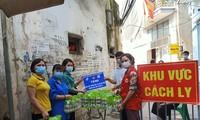 Freiwillige Jugendliche engagieren sich für Covid-19-Bekämpfung