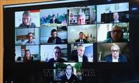 Virtuelle Sitzung zur Übermittlung des Ergebnisses des 13. Parteitages der KPV