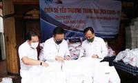 Unternehmen in Ho Chi Minh Stadt begleiten die Gemeinschaft bei der Covid-19-Bekämpfung