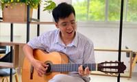 Junger Lehrer schreibt Lied zur Ermutigung von Ho Chi Minh Stadt zur Eindämmung der Pandemie