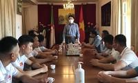 Vietnamesisches Team ist bereit für Army Games 2021 in Algerien