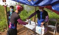 """Effektivität des Modells """"Gruppen zur Covid-19-Bekämpfung"""" in Dörfern im Bergkreis Moc Chau"""