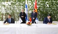 Unterzeichnung der Vereinbarung zwischen VNPT und NOKIA