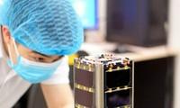 Der in Vietnam hergestellte Satellit NanoDragon ist bereit zum Start