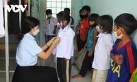 Unterstützung für Schüler in der Gemeinde Dak Pxi im Kreis Dak Ha der Provinz Kon Tum