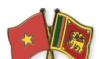 越南国家副主席邓氏玉盛会见 斯里兰卡—越南团结协会代表团