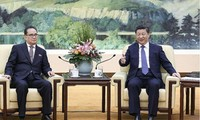中国呼吁朝鲜半岛有关各方保持克制