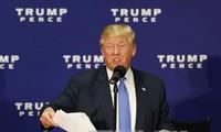 2016年美国总统选举:特朗普希望取消百分之七十的联邦规定