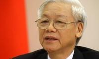 阮富仲即将对印度尼西亚进行正式访问对缅甸进行国事访问