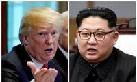 美国与朝鲜官员在板门店讨论双边首脑会谈事宜