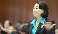 Das Parlament entlässt Abgeordnete Dang Thi Hoang Yen