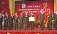 Premierminister Dung bei der Feier zum 10. Gründungstag des Umweltministeriums