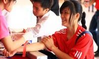 Tag der Blutspende der Jugendlichen