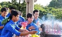 Kulturaustausch der Studenten und Geschichtszeugen in Quang Tri