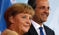 Deutsche Bundeskanzlerin will Griechenland in der Euro-Zone halten
