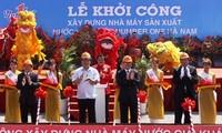 Vize-Premierminister Hoang Trung Hai besucht Provinz Ha Nam